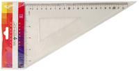 Угольник (60°/23 см, прозрачный)