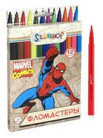 """Фломастеры """"Marvel comics"""" (12 цв., шестигранные)"""