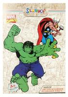 "Бумага цветная ""Marvel comics"" (10 цв./10 л., А4)"