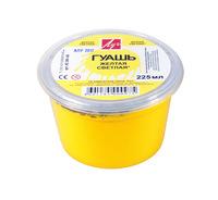 Гуашь желтая светлая (225 мл/300 г)