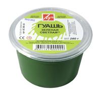 Гуашь зеленая светлая (225 мл/280 г)