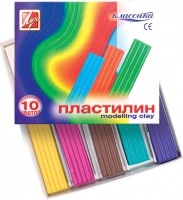 "Пластилин ""Классика"" (10 цв., 200 г)"
