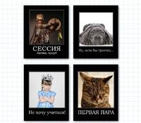 "Тетрадь общая ""Демотиватор"" (48 л., А5, кл., 4 вида)"