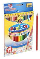 """Карандаши цветные """"Carioca"""" (18 цв., с точилкой)"""