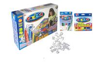 """Набор детский для рисования """"Carioca puzzle-adventures"""" (36 предм., пазл в комплекте)"""