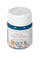 """Акриловая краска по стеклу и керамике """"Decola"""" (бирюзовая, 50 мл)"""