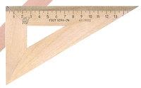 Угольник 30°/16 см (деревянный) 220-0379