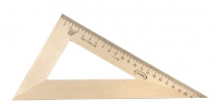 Угольник 30°/23 см (деревянный) 220-0380