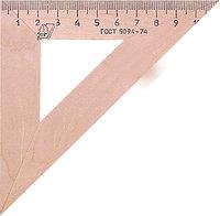 Угольник  45°/11 см (деревянный) 220-0381