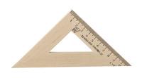 Угольник  45°/11 см (деревянный)
