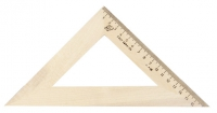Угольник  45°/18 см (деревянный)