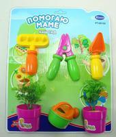 """Набор инструментов для детей для сада """"Помогаю маме"""" (6 предм., 3 вида)"""