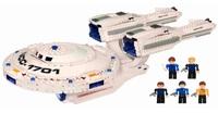 """Конструктор детский """"Star Trek USS Enterprise"""" (432 детали)"""