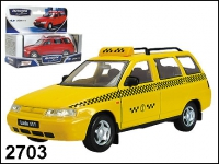 """Масштабная модель ВАЗ-111 Лада """"Такси"""""""