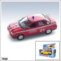 """Коллекционная модель ВАЗ-2110 Лада """"Пожарная охрана"""""""