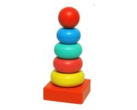 """Детская пирамидка """"Колечки"""" (6 дет.)"""