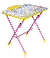 """Стол-парта """"КУ3"""" детский складной столик с рисунком СУ2"""