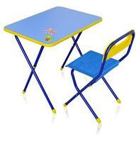 """Комплект детской складной мебели """"Алина"""" стол с стулом КА1"""