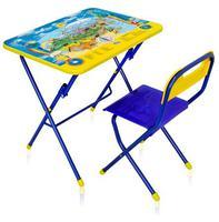 Комплект детской складной мебели с рисунком стол с стулом КПУ1