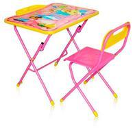 Комплект детской складной мебели с рисунком стол-парта со стулом и пеналом КПУ3