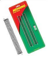 """Рельсы прямые (комплект из 4 штук) для железной дороги """"Mehano""""  (F223)"""