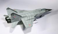 """Модели самолетов для склеивания самолет """"МиГ-31"""""""