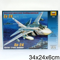 """Модели самолетов для склеивания самолет """"Су-24"""""""