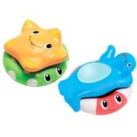 """Дет. игрушка для ванной """"Весёлые приятели со спасательными кругами"""""""