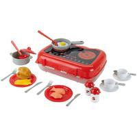 Кухонный набор детский в кейсе (продукты и посуда)