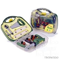 Набор инструментов для детей BOSСH с дрелью (в прозрачном в кейсе)