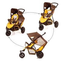 Дет. коляска для двоих детей Freerider SH-12 (цвет brown)