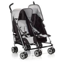 Дет. коляска для двоих детей Turbo Duo (цвет h-grey)
