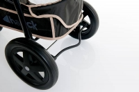 Дет. прогулочная трехколесная коляска Viper (цвет tango/black)