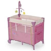 Манеж детский-кроватка для новорожденных Dream'n Care Сenter (цвет buterfly)