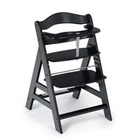 Детский стульчик для кормления Alpha (цвет black washed)