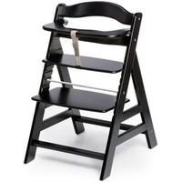 Детский стульчик для кормления Wooden High Chair (цвет black)