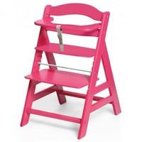 Детский стульчик для кормления Wooden High Chair (цвет red)