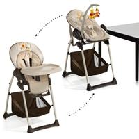 Детский стульчик-шезлонг для кормления Sit'n Relax (цвет pooh doodle brown)