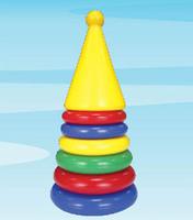 """Дет. пирамидка """"Ракета"""""""