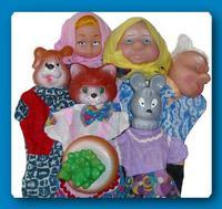 """Детский кукольный театр """"Репка"""" (7 персонажей)"""