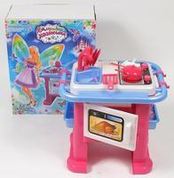 """Кухонный набор детский """"Волшебная хозяюшка"""" №1 (кухня, 54 см + набор посуды)"""