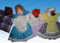 """Детский кукольный театр ПКФ """"Три медведя"""" (4 персонажа)"""