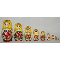 "Матрешка  ""Россияночка"" (9 кукол)"