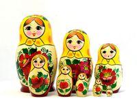 "Матрешка  ""Россияночка"" (8 кукол)"
