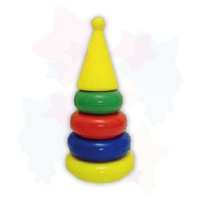 Дет. пирамидка маленькая (конус)