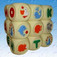 Кубики детские ПВХ Веселая азбука