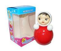 Дет. музыкальная игрушка-неваляшка Мила 22 см