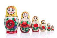 """Матрешка  """"Россияночка"""" (4 куклы)"""