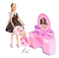 """Парикмахерская для кукол в коробке, """"Огонек"""""""