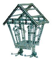 Конструктор детский металлический Эйфелева башня 893 детали